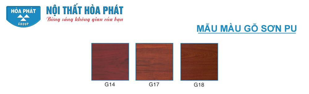 Màu gỗ sơn PU